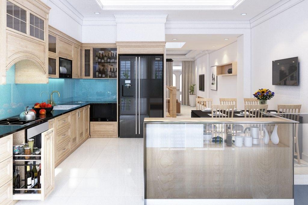 thiet-ke-can-ho-city-land-go-vap-anh-minh-18-1024x683 Kính bếp  - Cách trang trí cho nhà bếp trở nên lộng lẫy hơn