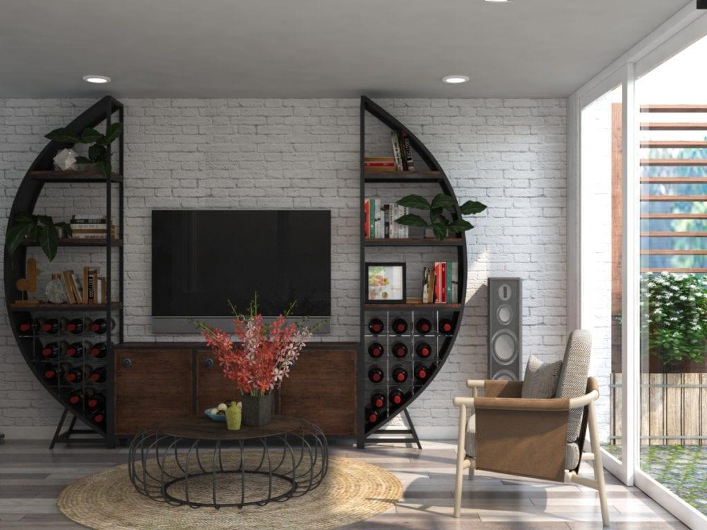 thiet-ke-nha-pho-59-vo-van-tan-6-1024x768 Kệ tivi đẹp và những ứng dụng trong thiết kế nội thất nhà ở