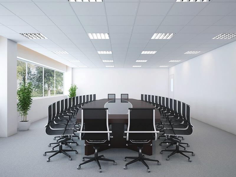 thiet-ke-phong-hop-xanh Thiết kế nội thất phòng họp tổng quan nhất