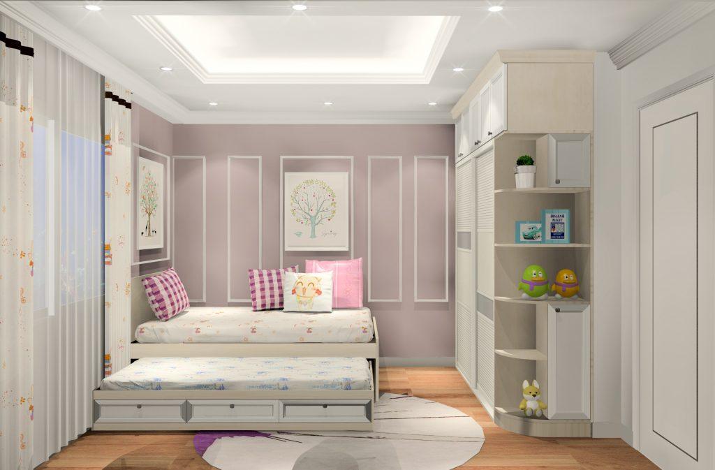 thiet-ke-phong-tre-em-1024x673 Gợi ý cách thiết kế phòng ngủ cho bé gái 15 tuổi