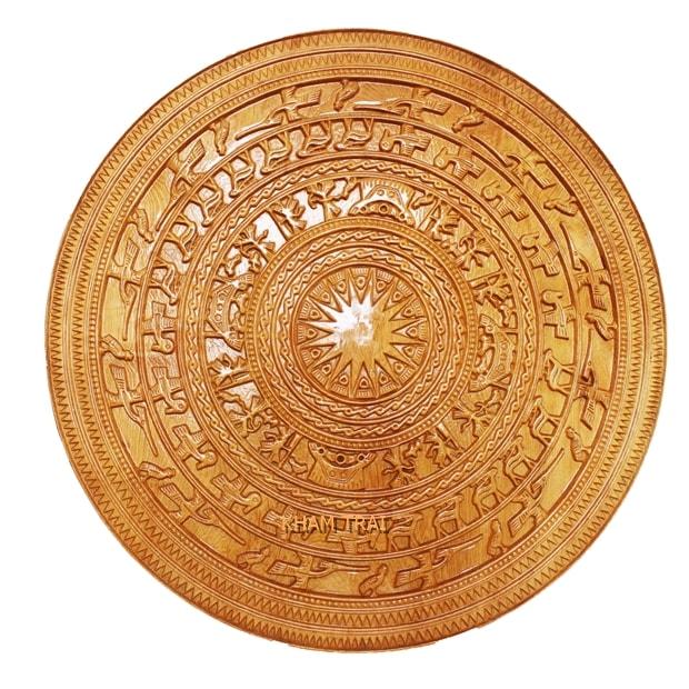 tranh-trong-dong-bang-go-po-mu-61x61x3cm-005-a [Kiến thức] Gỗ pơ mu là gì? - Đặc điểm và ứng dụng phổ biến của gỗ pomu