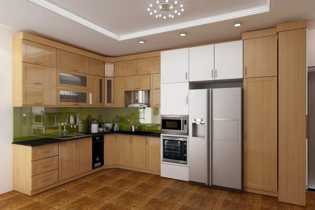 tu-bep-go-cong-nghiep-veneer-1024x684 Tủ bếp và cách lựa chọn phù hợp