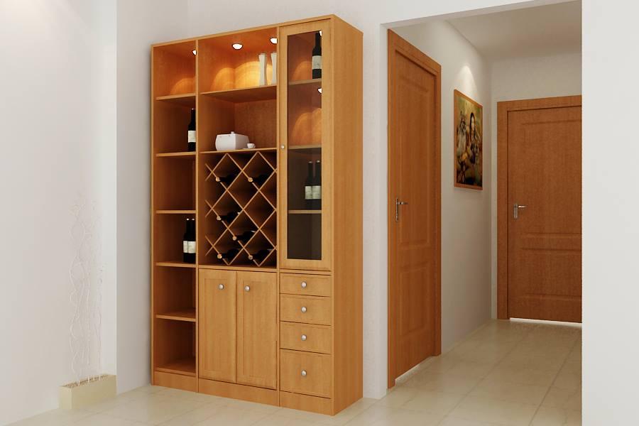 tu-ruou-go-cong-nghiep-TR01 Tủ rượu và cách bài trí hoàn hảo trong thiết kế nội thất