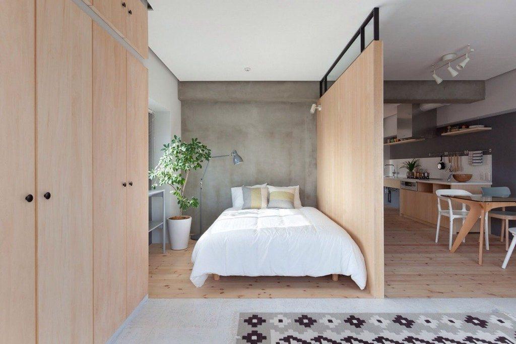 xrushevka-16-1-1024x682 Trang trí nhà với vách ngăn phòng khách và phòng ngủ