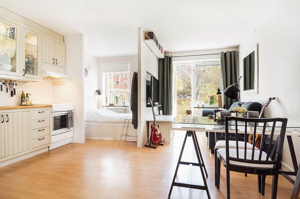 1-2-1024x682 Làm thế nào để thiết kế căn hộ nhỏ thông minh hoàn hảo?