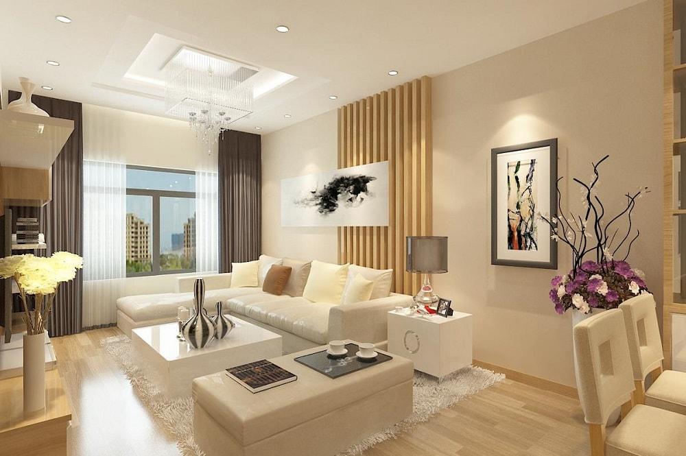 21 Gợi ý thiết kế nội thất chung cư 70m2 đẹp