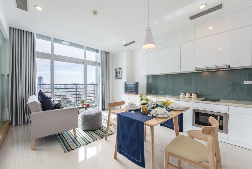 85491985-1024x687 Những lưu ý trong thiết kế phòng khách liền bếp