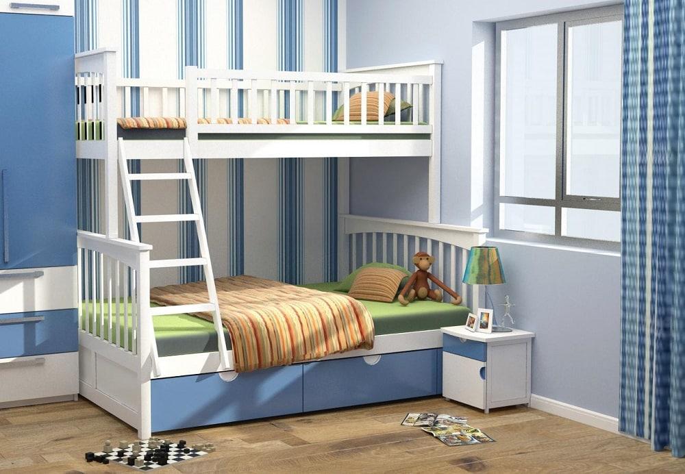 Giuong-tang-tre-em8 Giường tầng- nội thất đa năng cho không gian sống hiện đại