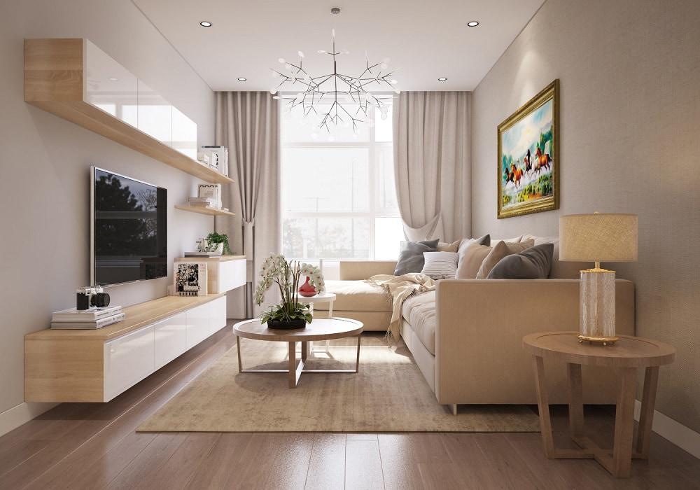 PHONG-KHACH-hoang-anh-thanh-binh-mau-2-1 Gợi ý thiết kế nội thất chung cư 70m2 đẹp