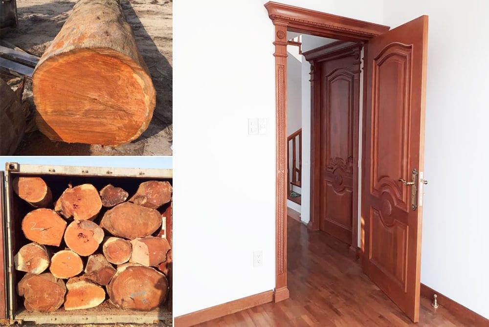 cua-go-go-do-Nam-Phi-3 Các loại gỗ gõ và những ứng dụng trong cuộc sống