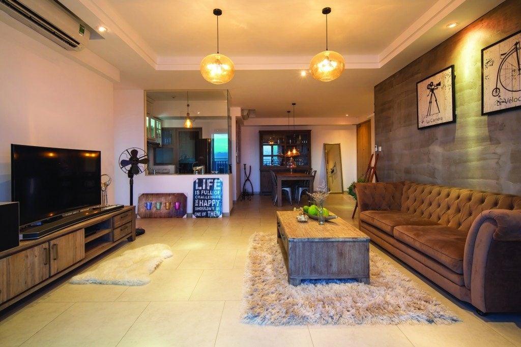 nau-1024x682 Ý tưởng thiết kế phòng khách nhà ống đẹp và sang trọng