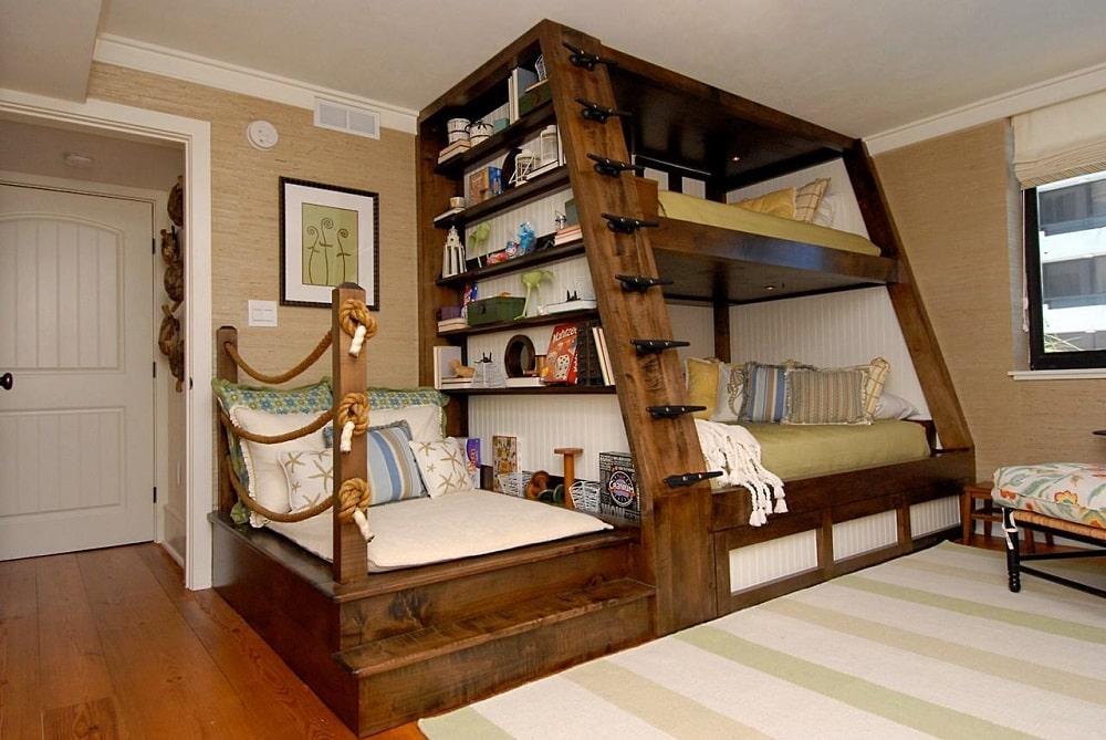perfect-bunk-beds-saving-space Giường tầng- nội thất đa năng cho không gian sống hiện đại