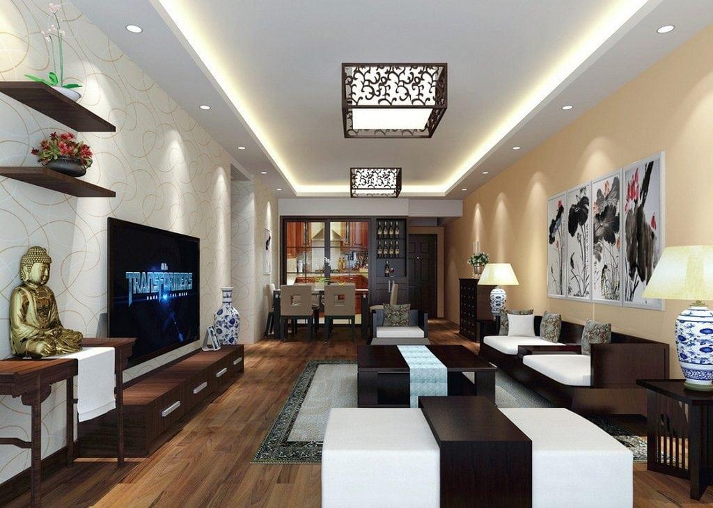 thiết-kế-nội-thất-phòng-khách-1024x730 Ý tưởng thiết kế phòng khách nhà ống đẹp và sang trọng