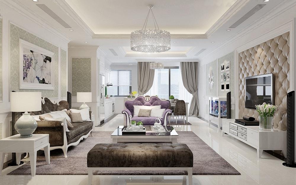 thiet-ke-noi-that-can-ho-imperia-garden-phong-cach-tan-co-dien-1 Gợi ý thiết kế nội thất chung cư 70m2 đẹp