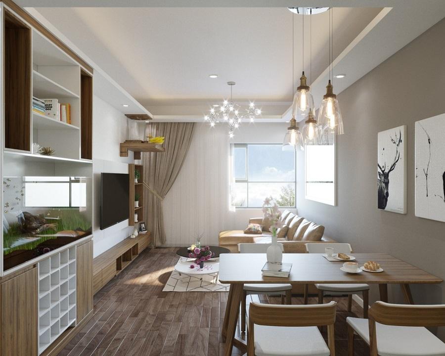 thiet-ke-noi-that-nha-chung-cu-60m2-3- Tuyệt chiêu thiết kế nhà nhỏ đẹp đơn giản