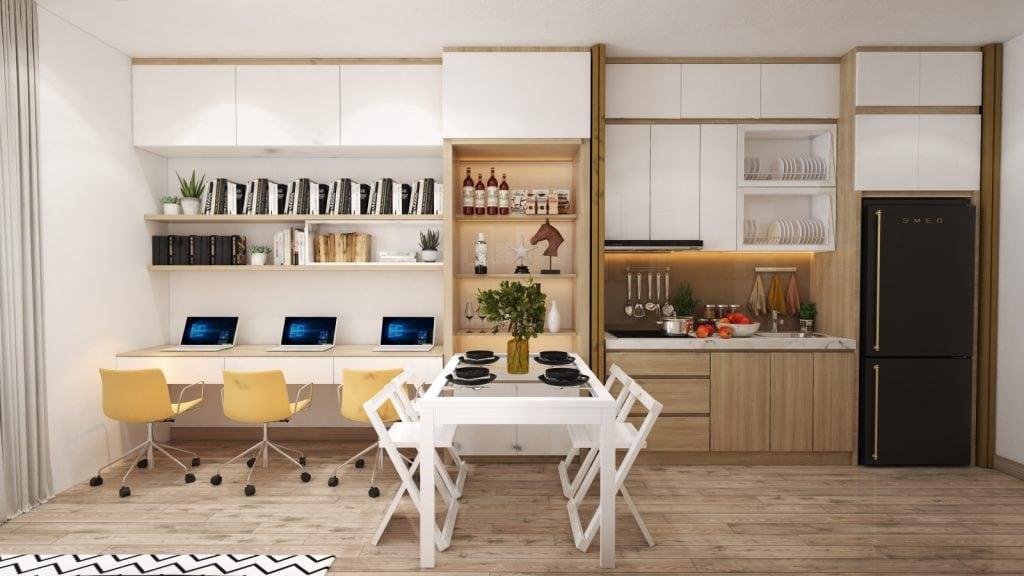 thiet-ke-noi-that-thong-minh-officetel-5-1024x576 Điều gì làm nên ưu thế của thiết kế nội thất thông minh
