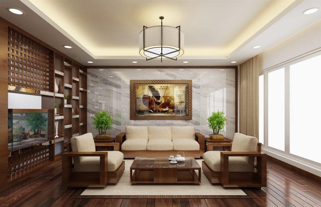 trang-tri-phong-khach-nha-cap-4-5-1024x660 Tranh treo tường phòng khách - điểm nhấn thẩm mỹ cho không gian