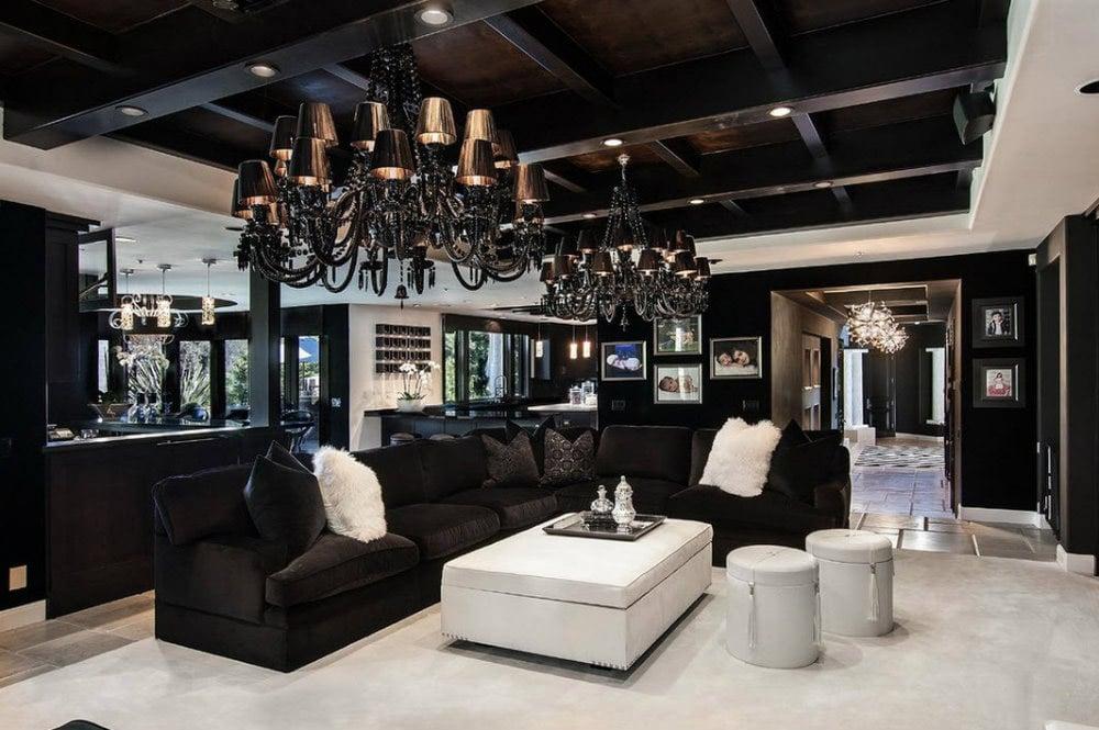 Thiết-kế-phòng-khách-phong-cách-Gothic Tổng hợp 25+ phong cách thiết kế nội thất đẹp - Đâu sẽ là sự lựa chọn của bạn