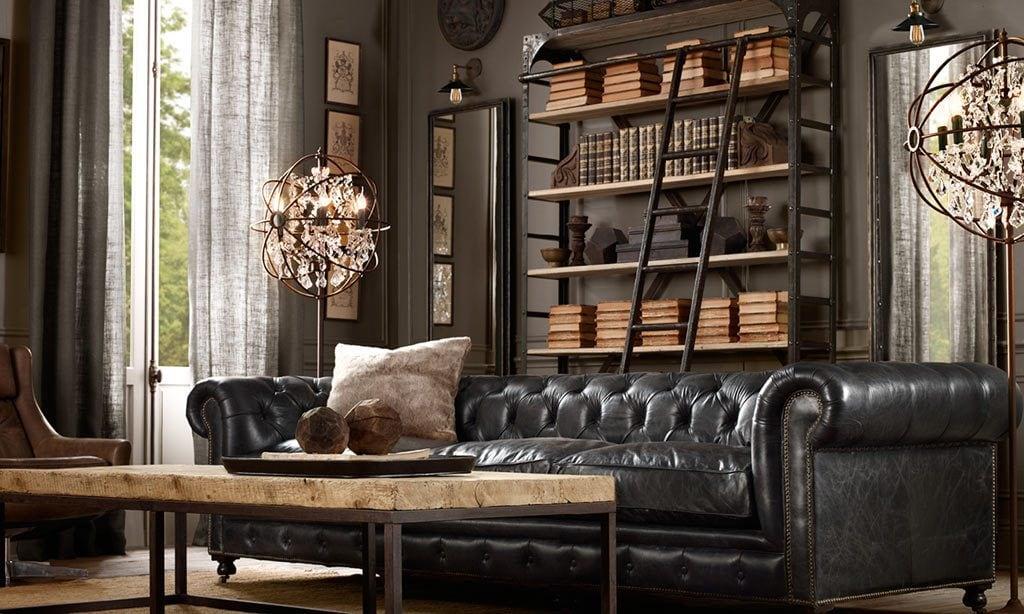 Vintage-Interior-design-Living-room-1-1024x614 Tổng hợp 25+ phong cách thiết kế nội thất đẹp - Đâu sẽ là sự lựa chọn của bạn