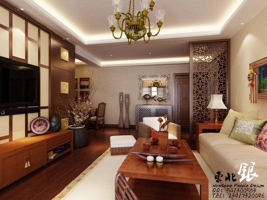 asian-style-living-room-1024x768 Tổng hợp 25+ phong cách thiết kế nội thất đẹp - Đâu sẽ là sự lựa chọn của bạn