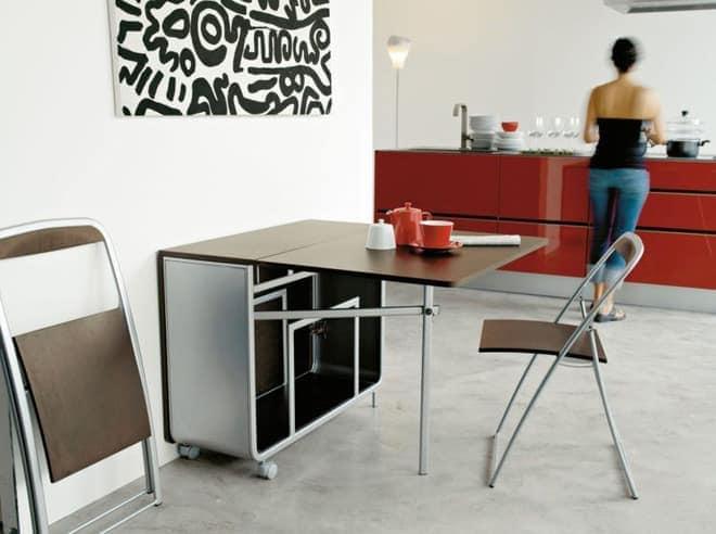 ban-gan-tuong-thong-minh-7 Bàn gắn tường thông minh - món đồ nội thất đa năng cho nhà nhỏ