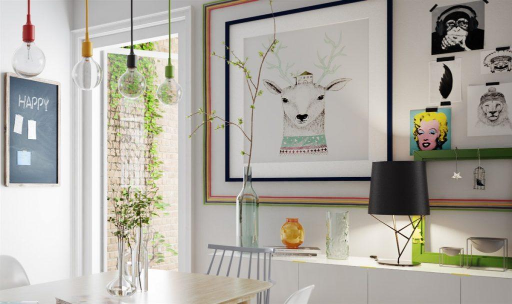 colorful-scandinavian-decor-1024x609 Tổng hợp 25+ phong cách thiết kế nội thất đẹp - Đâu sẽ là sự lựa chọn của bạn
