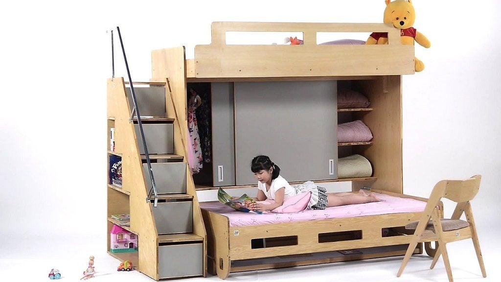 giuong-da-nang8-1024x576 Gợi ý chọn nội thất thông minh cho căn hộ nhỏ phù hợp với từng không gian