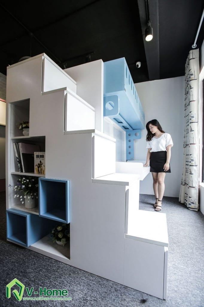 giuong-tang-2-1-682x1024 10 giải pháp biến đổi không gian thần kỳ cho căn hộ nhỏ nhờ nội thất đa năng
