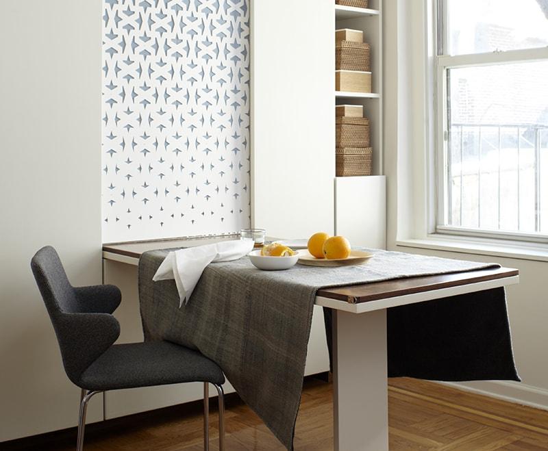 mau-ban-an-gap-thong-minh-6 Bàn gắn tường thông minh - món đồ nội thất đa năng cho nhà nhỏ