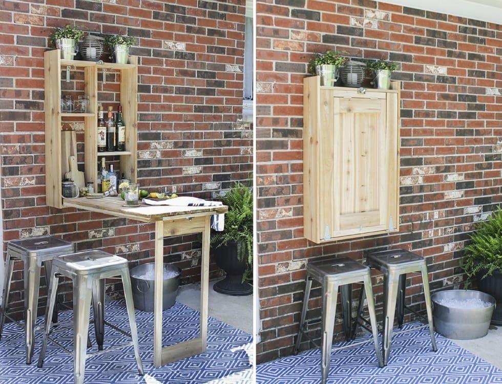 mau-ban-an-thong-minh-gan-tuong-cho-phong-bep-nho Bàn gắn tường thông minh - món đồ nội thất đa năng cho nhà nhỏ