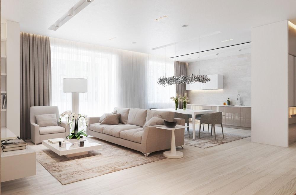 moderen-interior-na-otvorena-vsekidnevna-s-kuhnq-i-trapezariq-2g Tổng hợp 25+ phong cách thiết kế nội thất đẹp - Đâu sẽ là sự lựa chọn của bạn