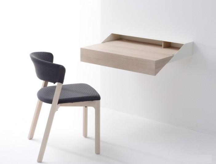 nhung-kieu-ban-gan-tuong-10 Bàn gắn tường thông minh - món đồ nội thất đa năng cho nhà nhỏ