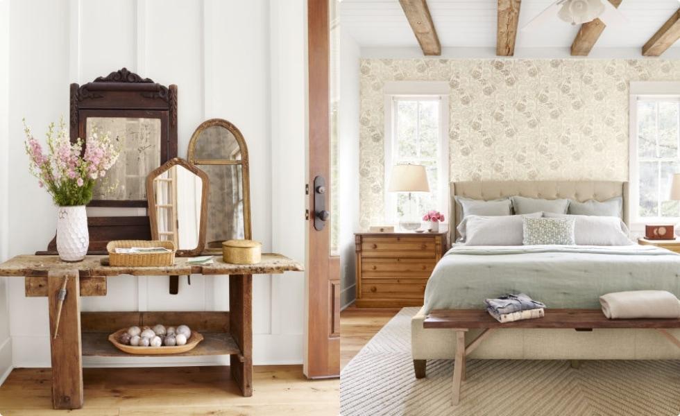 phong-cach-dong-que-1 Tổng hợp 25+ phong cách thiết kế nội thất đẹp - Đâu sẽ là sự lựa chọn của bạn