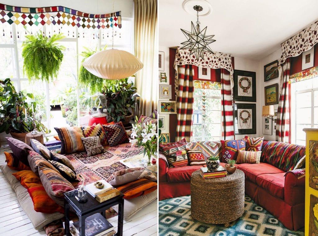 phong-khach-phong-cach-bohemian-doc-dao-1024x760 Tổng hợp 25+ phong cách thiết kế nội thất đẹp - Đâu sẽ là sự lựa chọn của bạn
