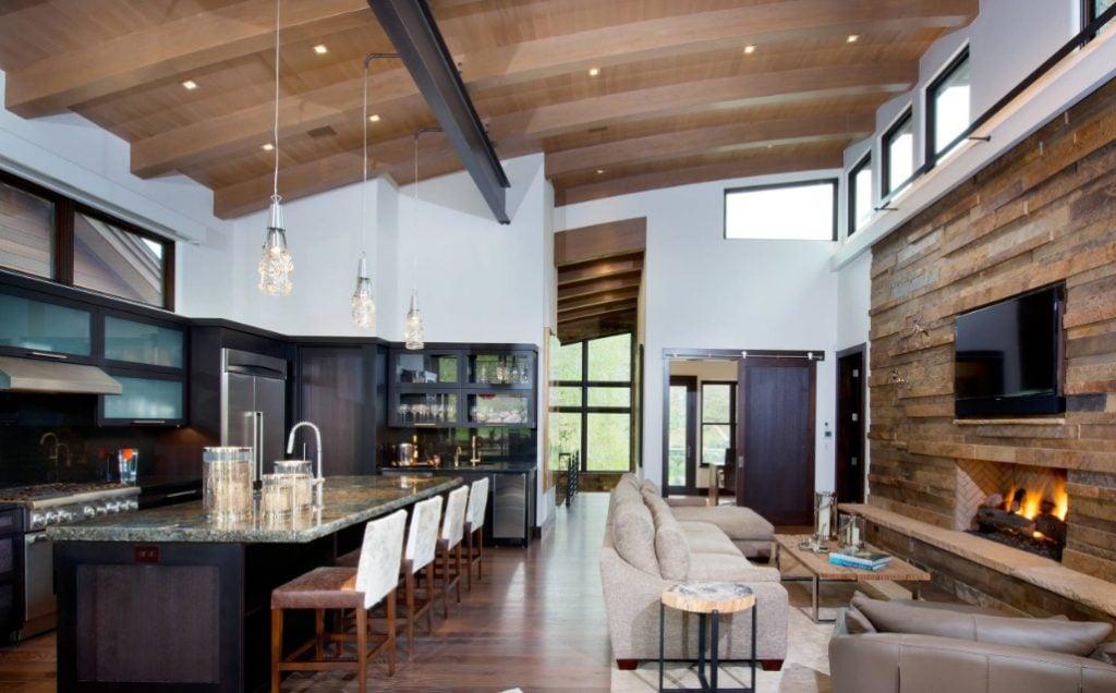 rustic-chic-open-concept-1024x636 Tổng hợp 25+ phong cách thiết kế nội thất đẹp - Đâu sẽ là sự lựa chọn của bạn