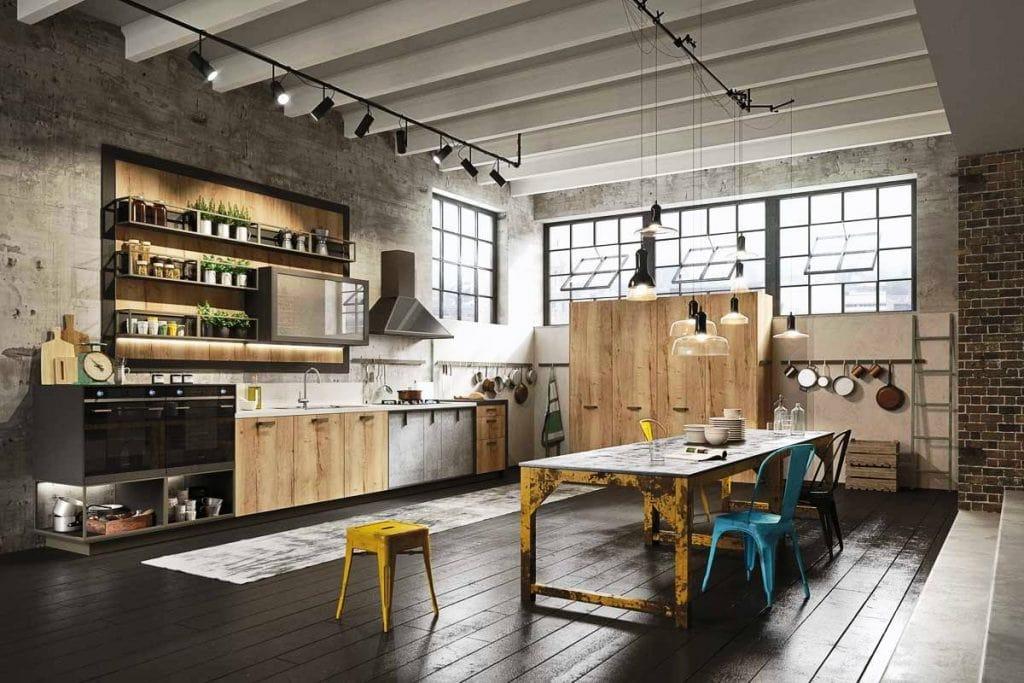 thiết-kế-nội-thất-phong-cách-công-nghiệp-1024x683 Tổng hợp 25+ phong cách thiết kế nội thất đẹp - Đâu sẽ là sự lựa chọn của bạn