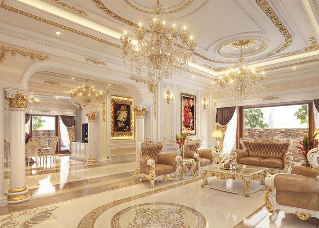 thiet-ke-noi-that-biet-thu-co-dien-1024x731 Tổng hợp 25+ phong cách thiết kế nội thất đẹp - Đâu sẽ là sự lựa chọn của bạn