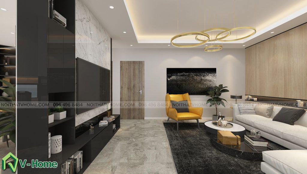 thiet-ke-noi-that-phong-khach-nha-lo-a-son-2-1024x580 Thiết kế nội thất nhà lô phố tại Đan Phượng - A. Sơn