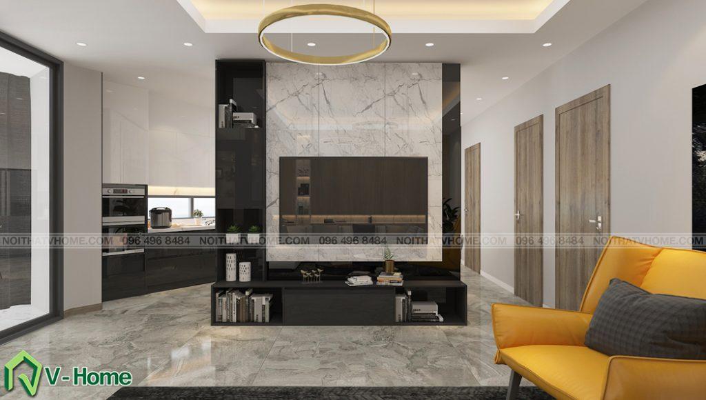 thiet-ke-noi-that-phong-khach-nha-lo-a-son-3-1024x580 Thiết kế nội thất nhà lô phố tại Đan Phượng - A. Sơn