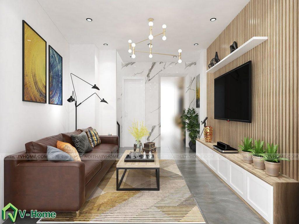 thiet-ke-noi-that-phong-khach-tang-1-a-duc-ngoc-ha-3-1024x768 Thiết kế nội thất nhà lô tại Ngọc Hà - A. Đức