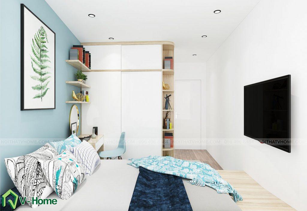 thiet-ke-noi-that-phong-ngu-tang-2-a-duc-ngoc-ha-3-1024x704 Thiết kế nội thất nhà lô tại Ngọc Hà - A. Đức