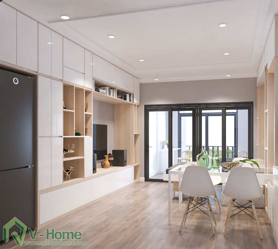 thiet-ke-officetel-r6-royal-city-3 Chia sẻ kinh nghiệm mua nội thất thông minh