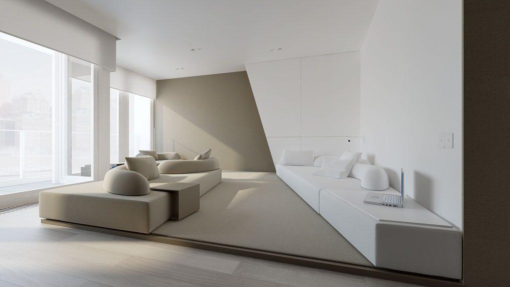 white-and-beige-minimalist-interior-1024x576 Tổng hợp 25+ phong cách thiết kế nội thất đẹp - Đâu sẽ là sự lựa chọn của bạn