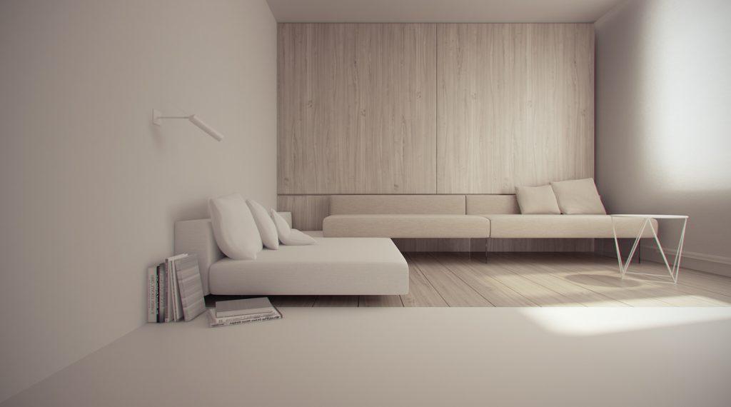 wood-and-beige-minimalist-living-1024x570 Tổng hợp 25+ phong cách thiết kế nội thất đẹp - Đâu sẽ là sự lựa chọn của bạn