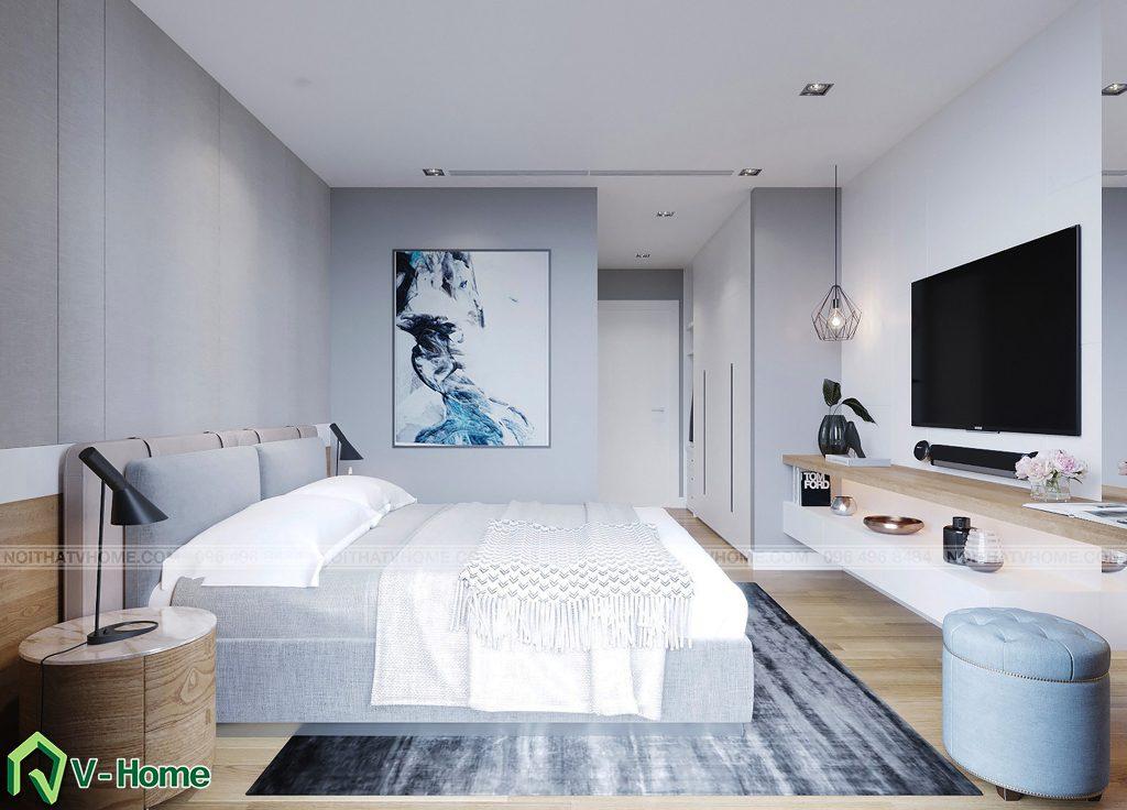phong-ngu-master-2-1024x736 Thiết kế nội thất căn hộ FLC Twin Towers - Ms. Hương