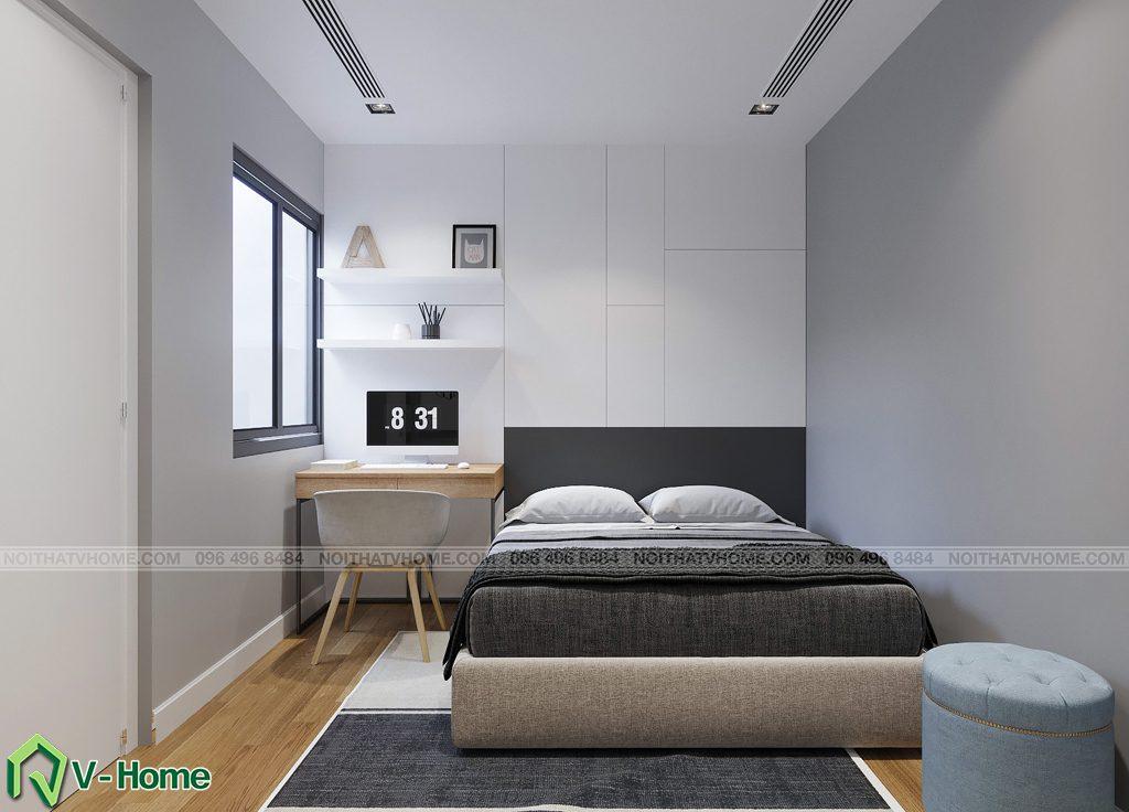phong-ngu-s2-1-1024x736 Thiết kế nội thất căn hộ FLC Twin Towers - Ms. Hương