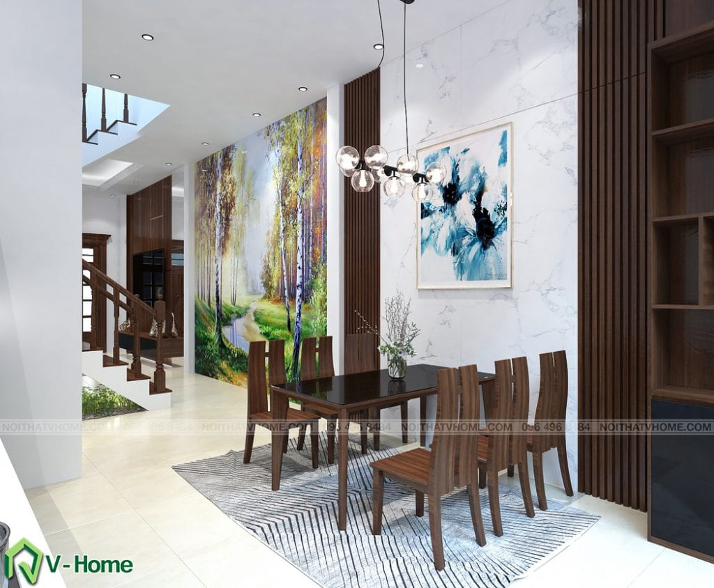 thiet-ke-noi-that-phong-an-kim-anh-2-1024x844 Thiết kế nội thất nhà lô phố tại Cầu Diễn - Ms. Kim Anh