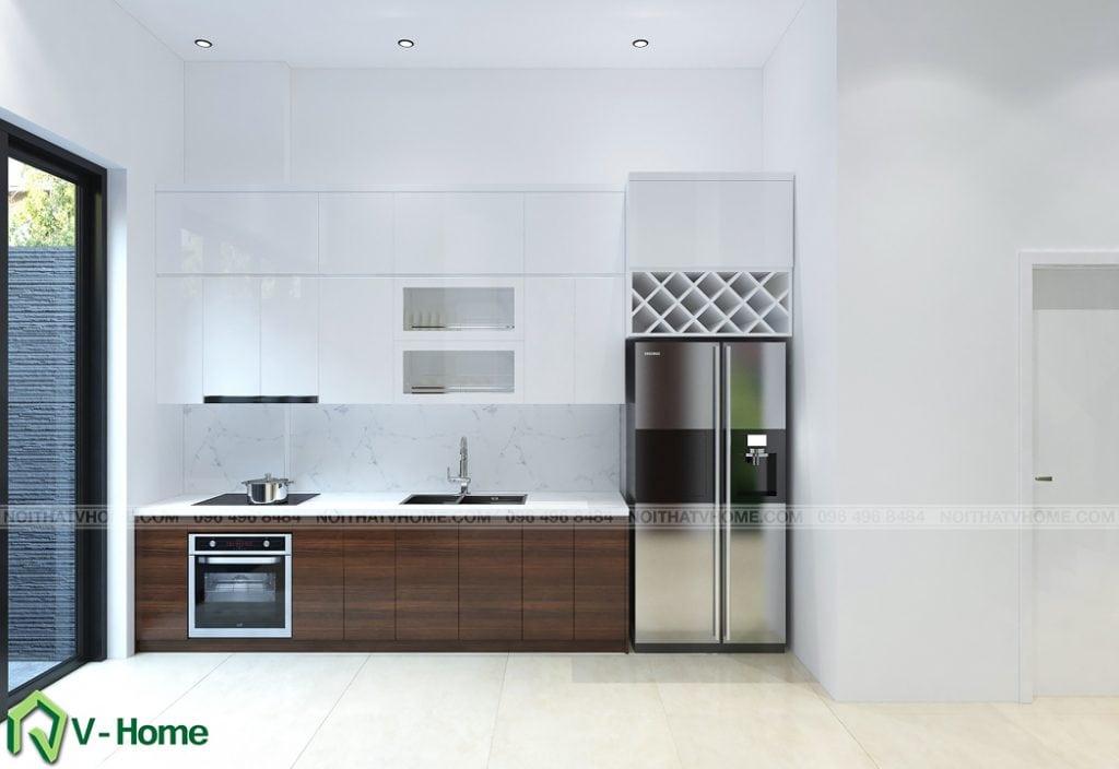 thiet-ke-noi-that-phong-bep-kim-anh-1-1024x704 Thiết kế nội thất nhà lô phố tại Cầu Diễn - Ms. Kim Anh