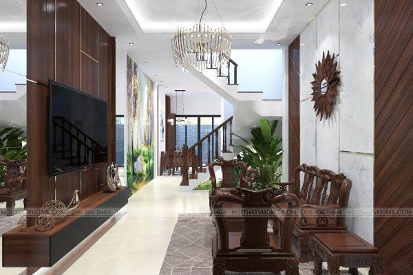 Thiết kế nội thất nhà lô phố tại Cầu Diễn - Ms. Kim Anh