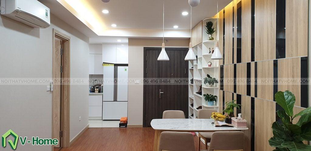 Phong-khach-can-ho-mon-city-2-1024x498 Thi công nội thất căn hộ chung cư Mon City - Chị Vân